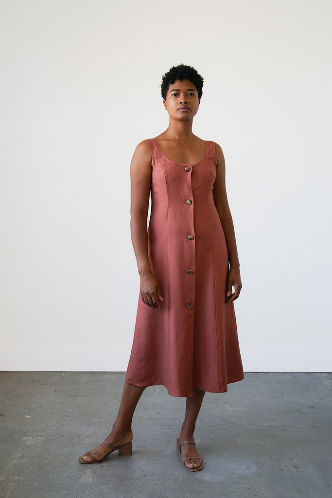 Terrazza Dress in Cinnamon