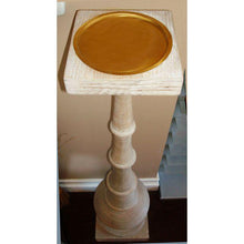 4' Tall Standing Candle Pedestal *