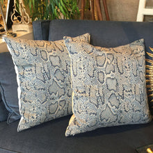 Animal Print Pillows - A Pair *