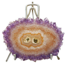 Amethyst Stalactite Slice on Stand *