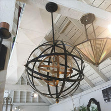 Large Round Orb Pendant Light