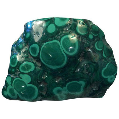 4 1/2 lbs of Polished Malachite *