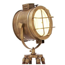Brass Tripod Spot Light