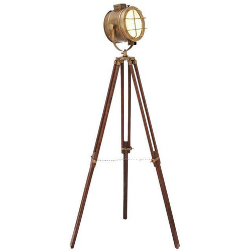 # Brass Tripod Spot Light