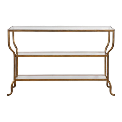 Antiqued Console Table