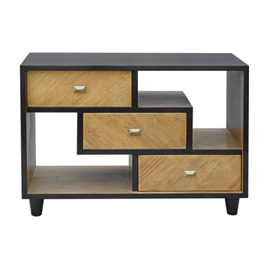 Accent Chest with Floating Shelves