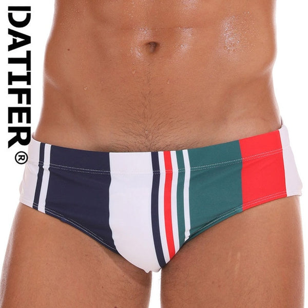 Men's Swimwear Low Boxers Swim Sportive Beachwear Shorts Swimsuit Brief in 16 Colours