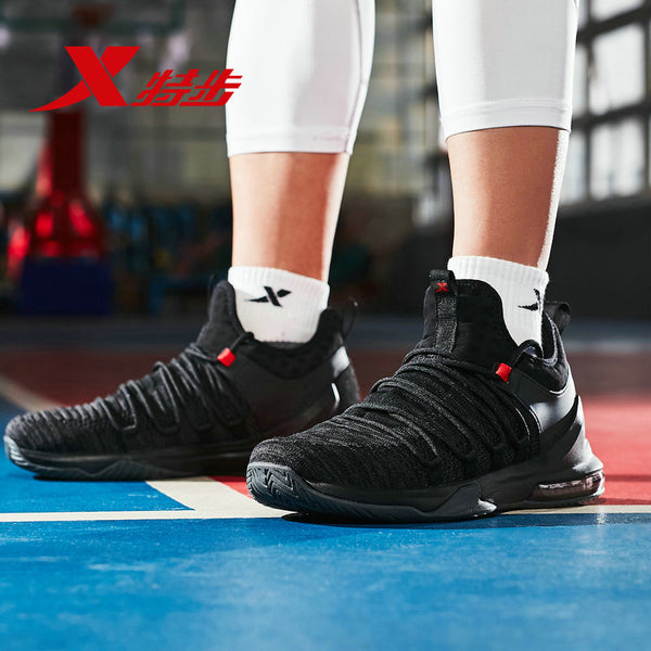 Xtep basketball men's air cushion breathable indoor and outdoor sneakers