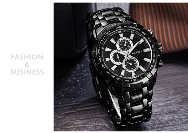 Mens quartz TopBrand  Analog  Military Men Sports army Waterproof Watch
