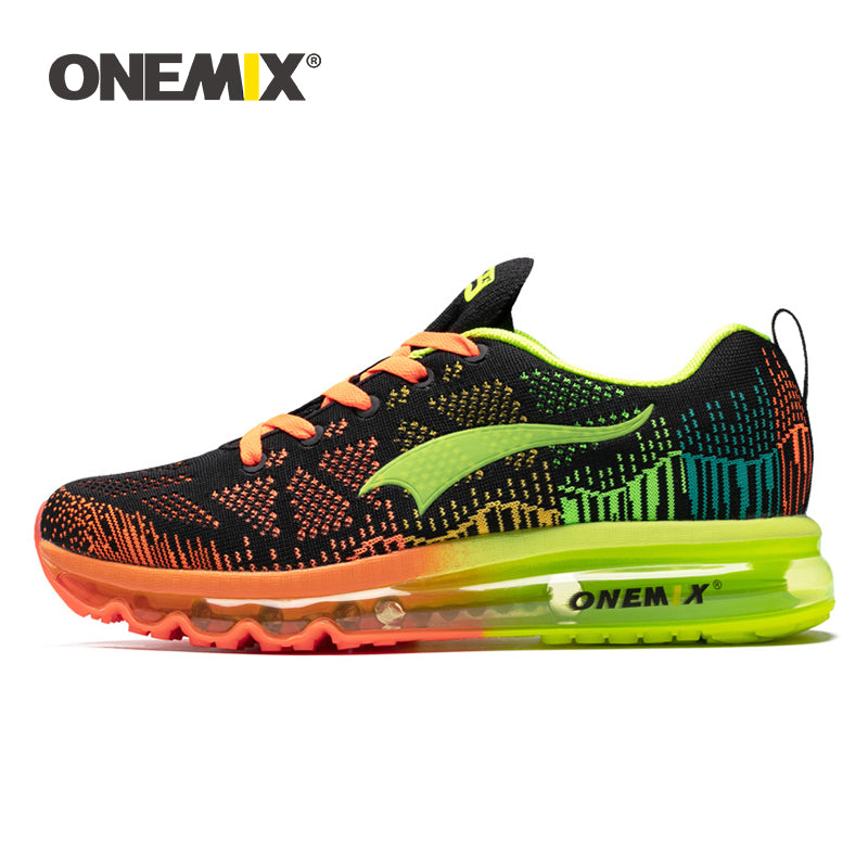 Onemix Men's Breathable Mesh Outdoor Athletic Light Weight Sneakers