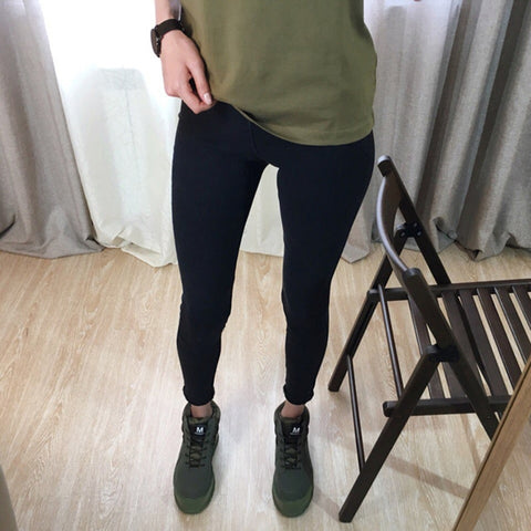 Casual Skinny Slim Washed Thin High Elastic Denim Legging Pencil Pants Jeans Jeggings