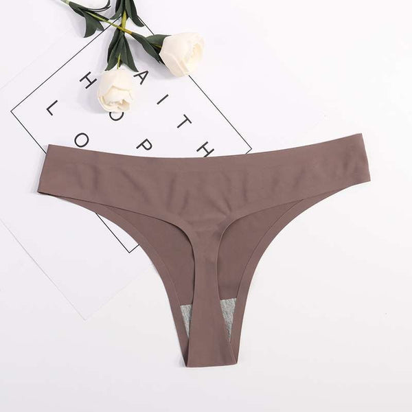 Invisible Seamless T Panties G-String Thong Intimates Ultra thin Lingerie Ladies Brief Underwear Panties