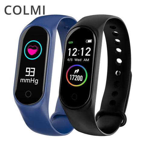 COLMI M4S Smart Bracelet Color-screen IP67 Fitness Tracker blood pressure Heart Rate Monitor Smart band Smart Watch For Android IOS