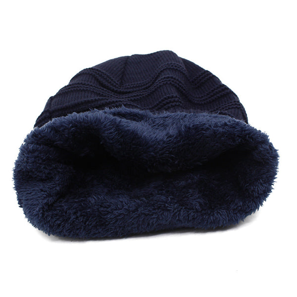Winter Baggy Hat Wool Beanie