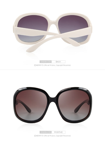 Designer Women's Retro Polarized Lady Driving 100% UV Protection Sunglasses