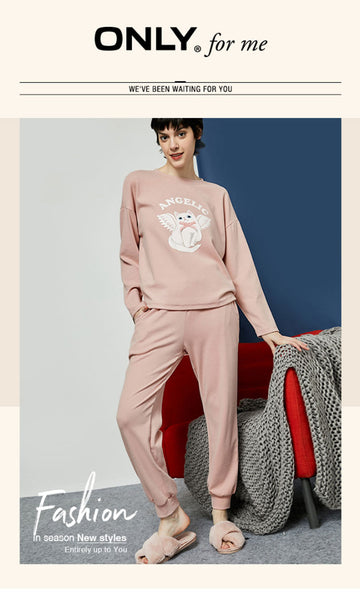Women's Loose Fit High-rise Casual Sweat Pants