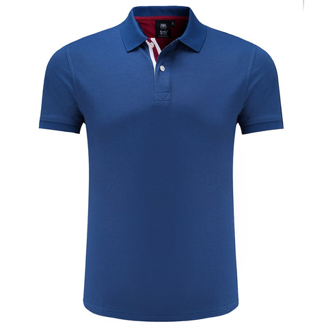 Golf Short Sleeve Training Fitness Summer Turn-down Collar Polo T shirt