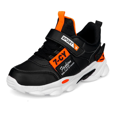 Autumn Children Sports Shoes Boys Breathable Running Kids Strap Sneakers