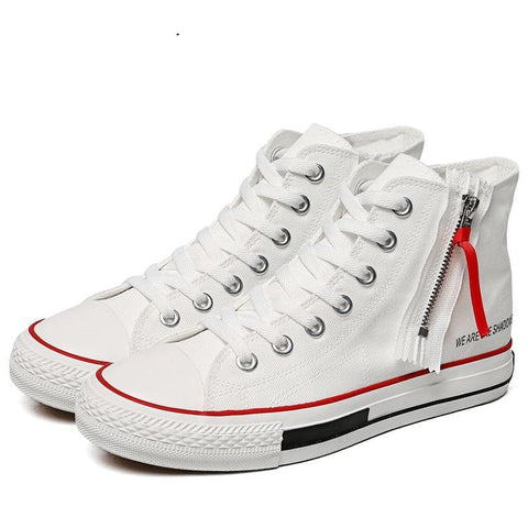 High top Designer sneakers High upper canvas fashion Vulcanize Shoes