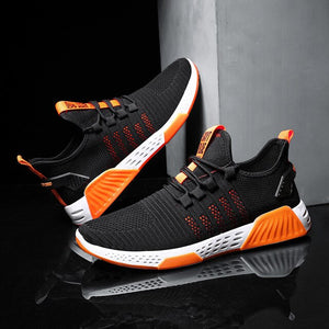 Designer Men's Casual Breathable Mesh Comfortable Walking Footwear Male Running Sport Shoes Sneakers