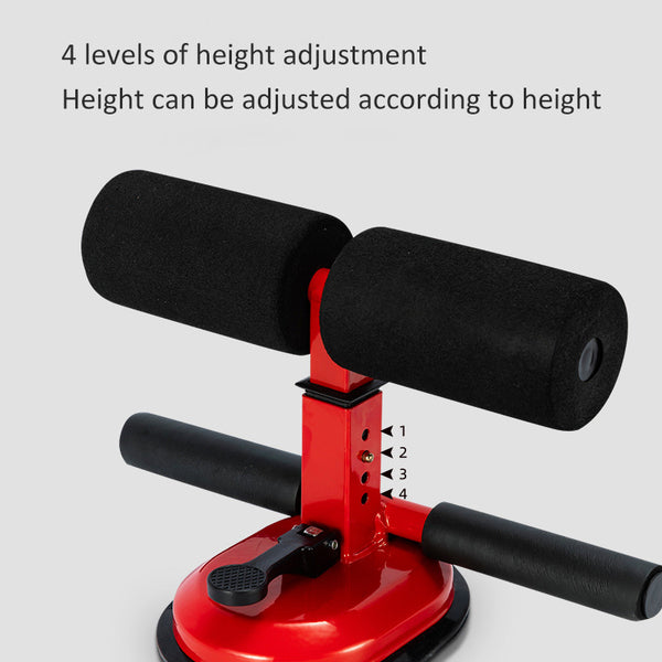 Sit Up Assistant Abdominal Core Workout Fitness Adjustable Portable Suction  Exercise Equipment  Home Gym