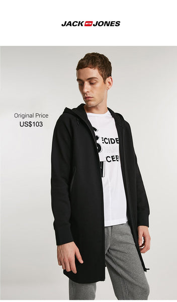 Autumn Pure Cotton Casual Long-sleeved Hoodies Jacket Coat|  218333531