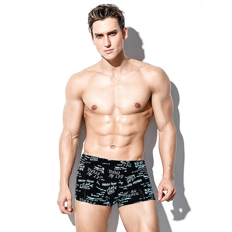 4 Pack High Quality Brand Boxer Mens Underwear U Convex Boxers Shorts Soft Male Panties Printed Breathable Underpants Trunks