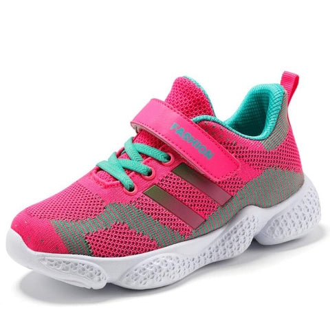 New Kids Breathable Boys Girls Sport Children Casual Baby Running Mesh Shoe Sneakers