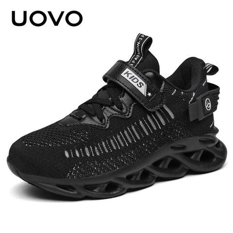 New Arrival Lightweight Soft Convenient Buckle Strap Kids Sport Shoes Children Running Shoe Sneakers