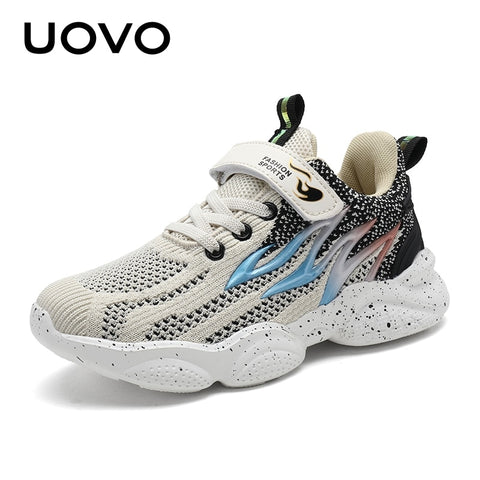 Lightweight Running Fashion Walking Soft Kids Sport Shoes Boys and Girls Sneakers