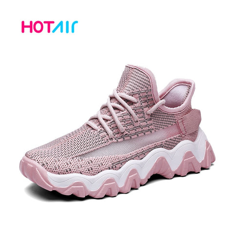 Mesh breathable Kids Shoes Girls Light Child Shoes Girl Cute Pink Flat Shoes Girls Sneakers
