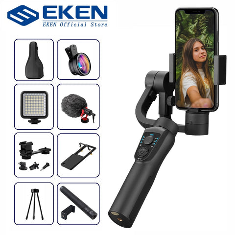 S5B 3 Axis Handheld gimbal stabilizer cellphone Video Record Smartphone Gimbal For phone Action Camera VS H4