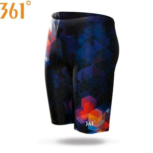 Men's Swimwear Tight Swim Trunks Plus Size Quick Dry Swimming Shorts - The Clothing Company Sydney
