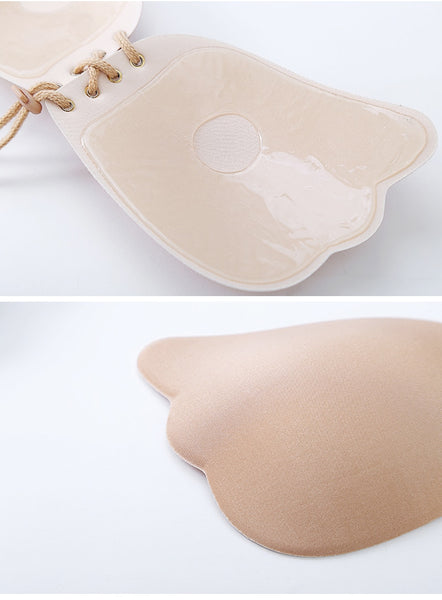 Womens Invisible Bra Super Push Up Seamless Self-Adhesive Sticky Wedding Party Front Strapless Fly Bra