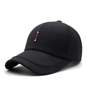 Casual Plain Flat Adjustable New Sun Hat Baseball Caps