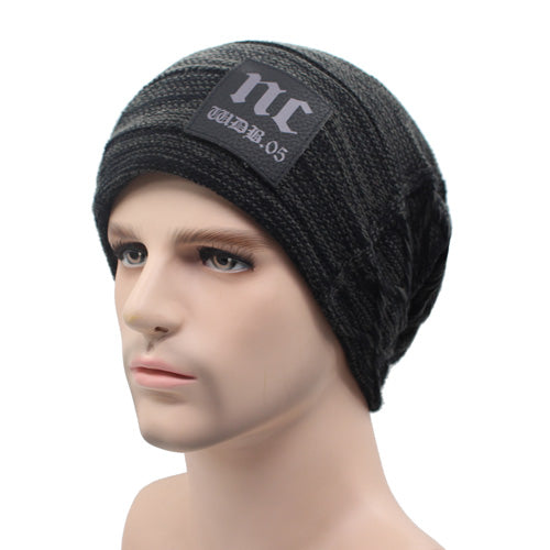 Unisex Knitted Winter Baggy Beanie
