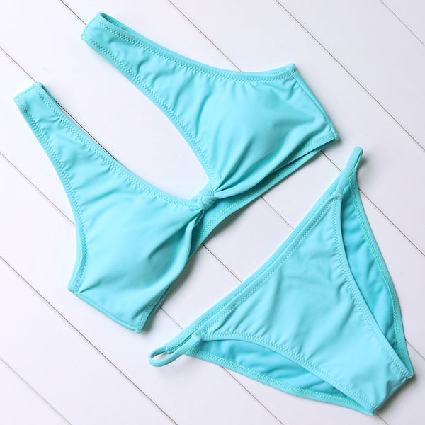 2 Piece Low Waist Bikini Swimsuit in 3 Colours - The Clothing Company Sydney