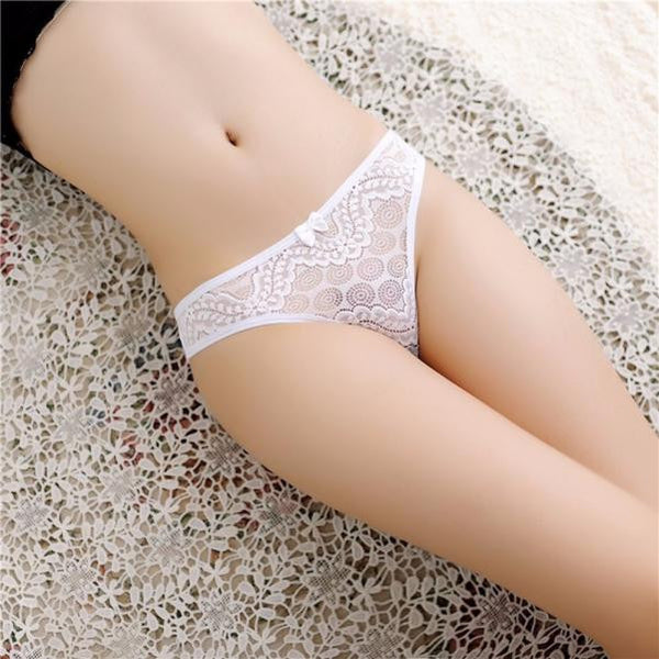 Women Sexy Lace Briefs Panties Thongs G-string Lingerie Underwear in 7 Colours