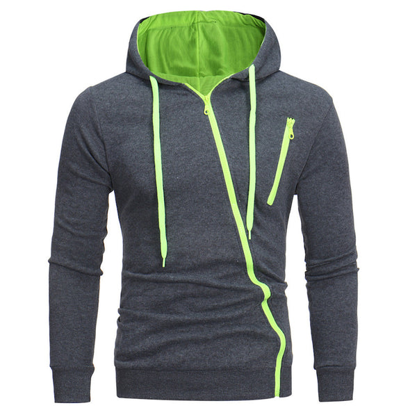 Mens' Long Sleeve  Hooded Sweatshirt Tops Jacket Coat Outwear
