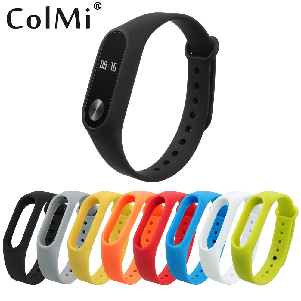 ColMi Colorful Silicone Wrist Strap Bracelet Belt For Smart Band Smart Watch