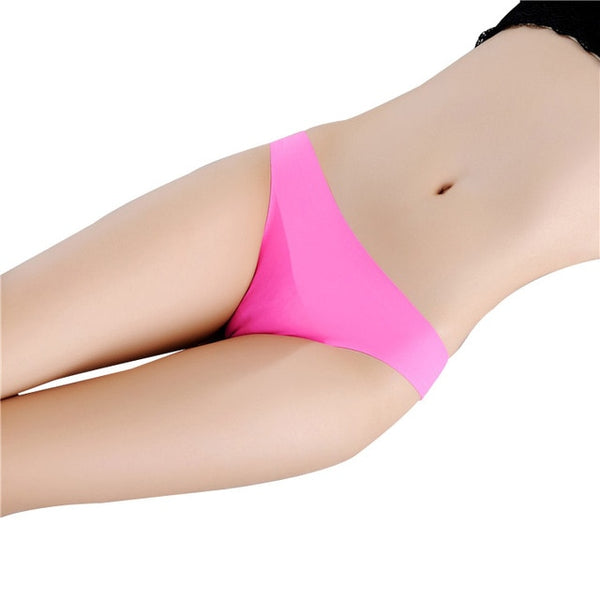 Seamless G-String Briefs Thong Panties Lingerie Underwear