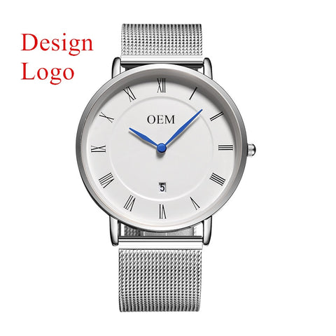 Private Label Create Your Own Brand Personalized Brand Custom Watch Face