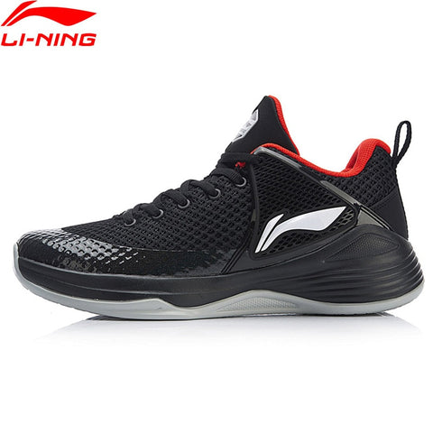 Li-Ning Mens SHADOW On Court Low Cut Basketball Anti-Slippery Fitness Sneakers