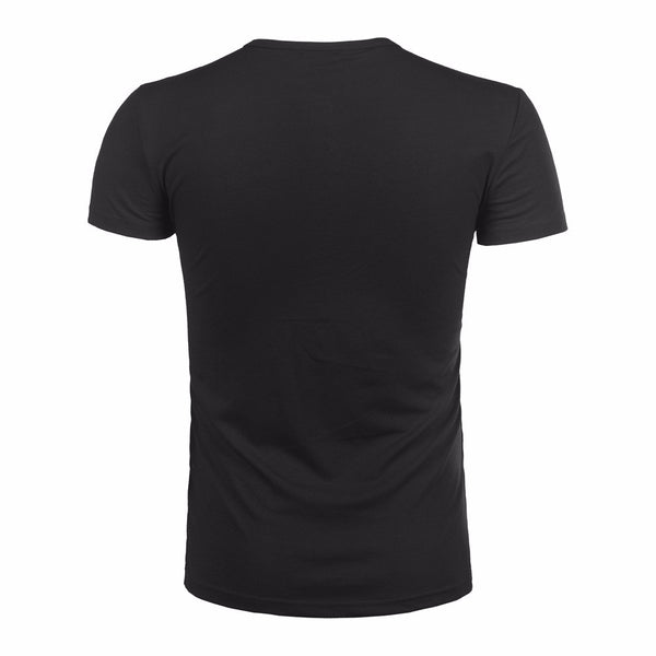Mens Button Blouse Short Sleeve Fit Pullover T Shirt Solid Top