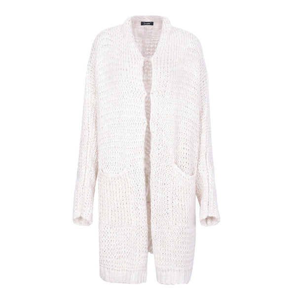 Loose knitted Long jumper sweater cardigan