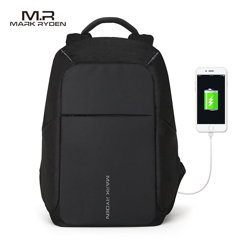 Multifunction USB charging  15inch Laptop Anti Theft Leisure Travel Backpack