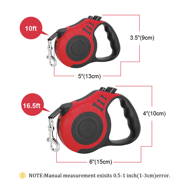 3M/5M Retractable Dog Leash Automatic Rope Pet Running Walking Extending Lead For Small Medium Dogs
