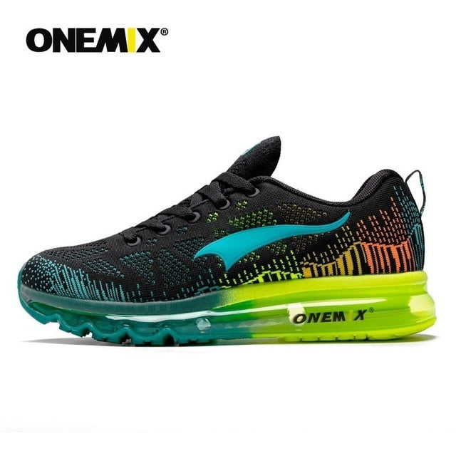 Onemix Men's  Breathable Mesh Outdoor Athletic Lightweight Sneaker Shoes