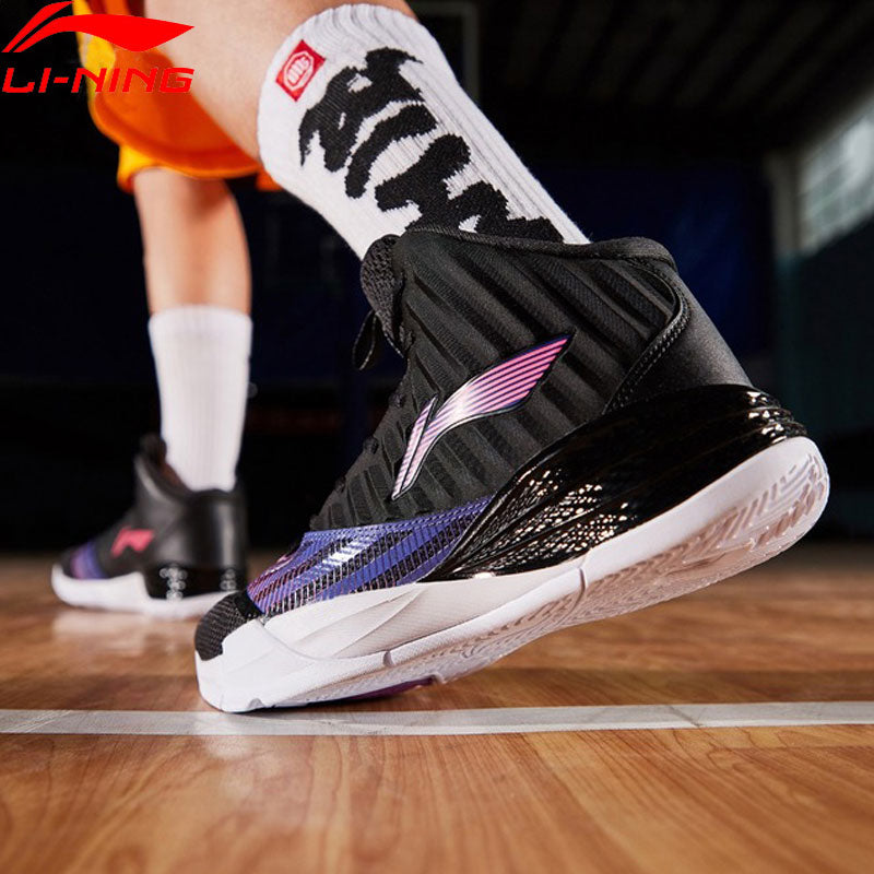 Li-Ning Men STORM On Court Basketball Cushion Bounce CLOUD TUFF RB Wearable  Sneakers