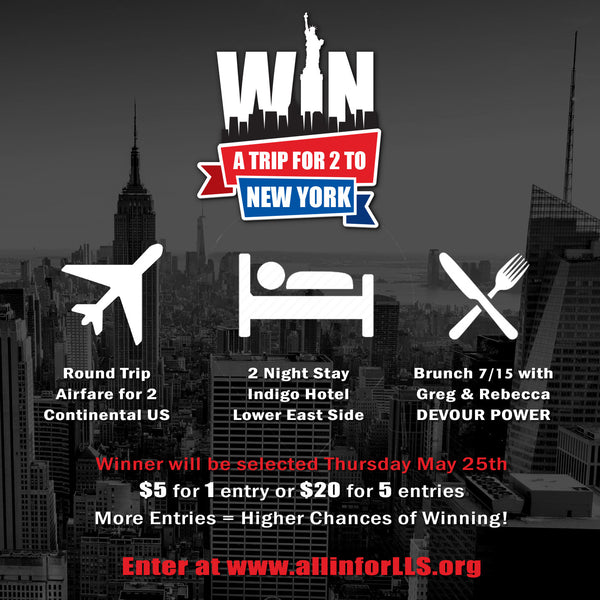 Enter To Win A Trip For 2 To NYC!